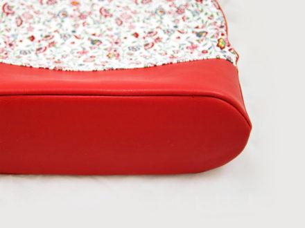 Jak wszyć zaokrąglone dno do torebki, wszywanie koła do tuby - tutorial