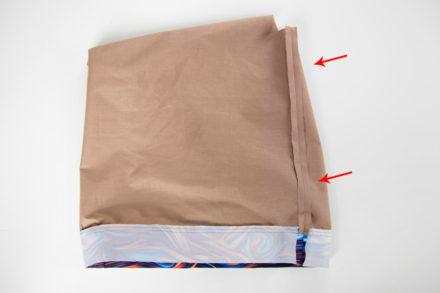 Szycie podszewki do torebki, jak uszyć torebkę z podszewką i zamkiem tutorial