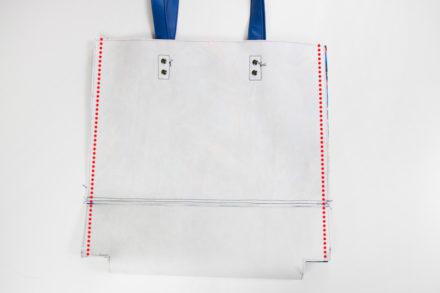Szycie torebki shopperki, jak uszyć torbę z zamkiem