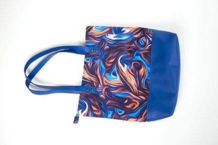 Jak uszyć shopper bag, torba na zakupy z zamkiem tutorial