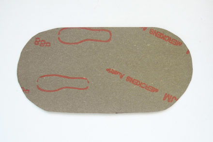 Usztywnianie dna torebki tekturą obuwniczą