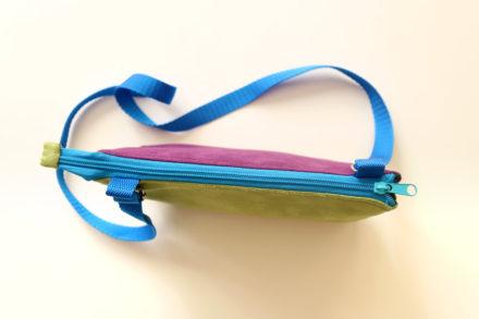 Jak uzyć dwukomorową torebkę lub kosmetyczkę ze współdzielonym zamkiem