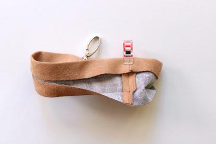 Jak uszyć pasek na nadgarstek do torebki