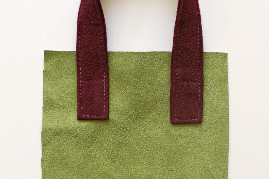 Jak uszyć rączki z materiału do torebki