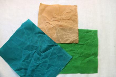 Woskowana bawełna, kolorowa tkanina woskowana