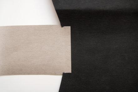Wszywanie paneli bocznych do torebki z washpapy