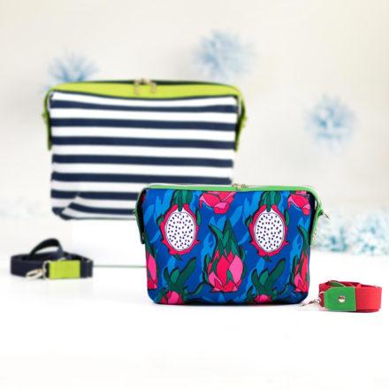 Torebka Olivia - wykrój krawiecki oraz instrukcja szycia torebki