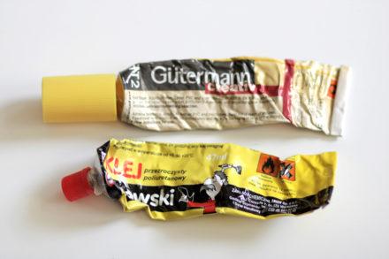 Klej szewski, klej gutermann ht2 - kleje do tkanin i ekoskóry