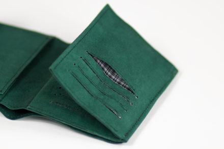 Portfel Leon - portfel z papieru, który można prać