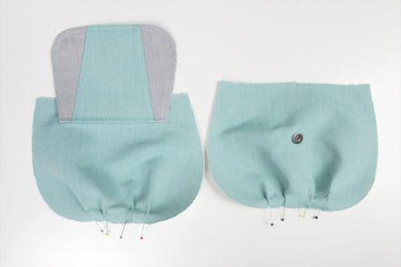 Zszywanie warstwy wierzchniej torebki
