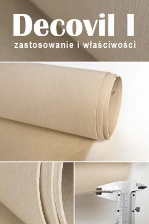 Decovil I - włóknina usztywniająca - zastosowanie i właściwości - szycie torebek i akcesoriów