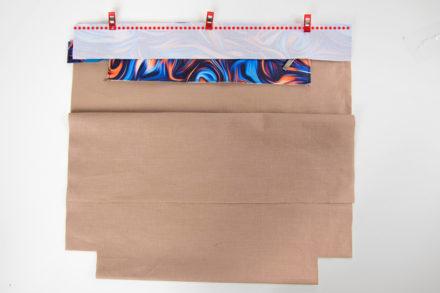 Wszywanie listwy z zamkiem do torebki