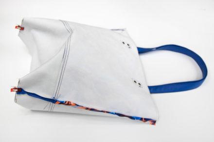 Zszywanie dna torebki, szycie tote bag tutorial