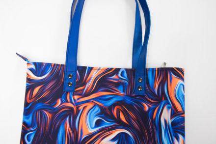 Jak uszyć torbę tote z zamkiem i podszekwą tutorial