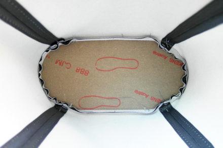 Jak mocno usztywnić dno torebki - tektura obuwnicza