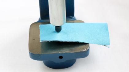 Jak wycinać otwory w materiale i jak zabezpieczyć tkaninę