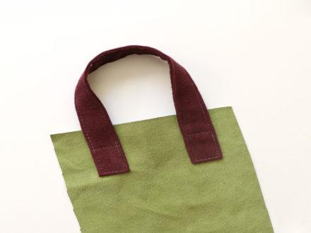 Jak uszyć rączki z tkaniny do torebki szoperki