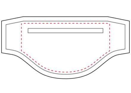 Jak narysować worek kieszeni, szycie kieszeni z zamkiem