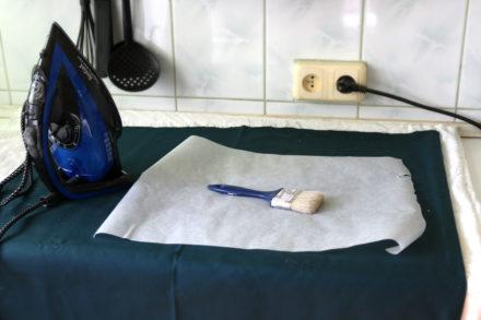 Woskowanie tkaniny w domu, woskowana bawelna