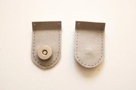 Zapięcie na magnes do torebki z papieru