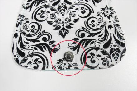 Mocowanie zapięcia magnetycznego na klapce