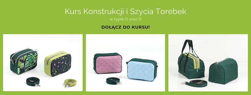 Kurs kosntrukcji i szycia torebek, kursy szycia torebek online